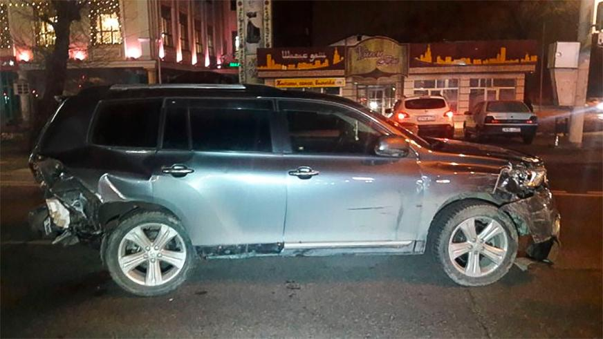 Два ДТП с пьяными водителями произошли в Алматы на выходных