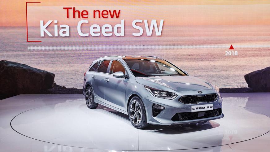 В Женеве презентовали новый универсал Kia Ceed SW