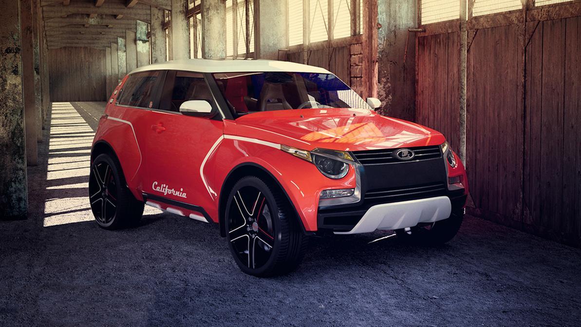 Дизайнер АВТОВАЗа рассказал о новой LADA 4x4