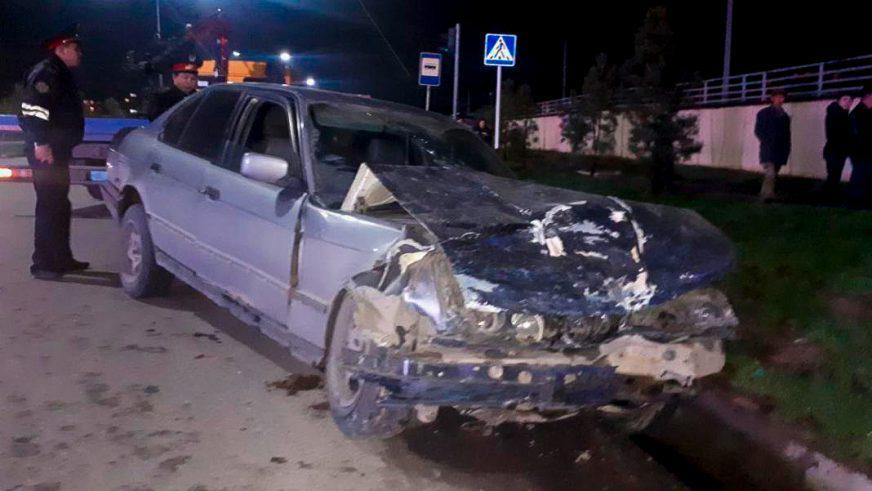 Opel Vectra разорвало в Шымкенте. Пострадали беременная и малыш