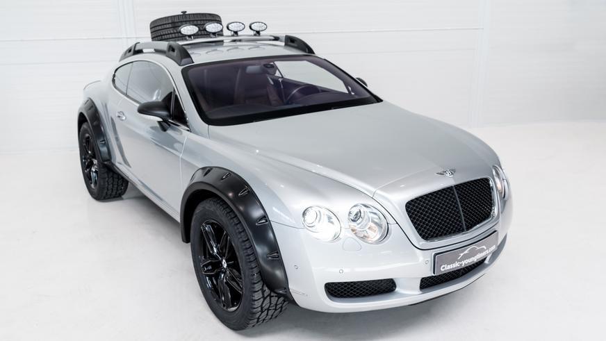 Внедорожный Bentley Continental GT выставили на продажу