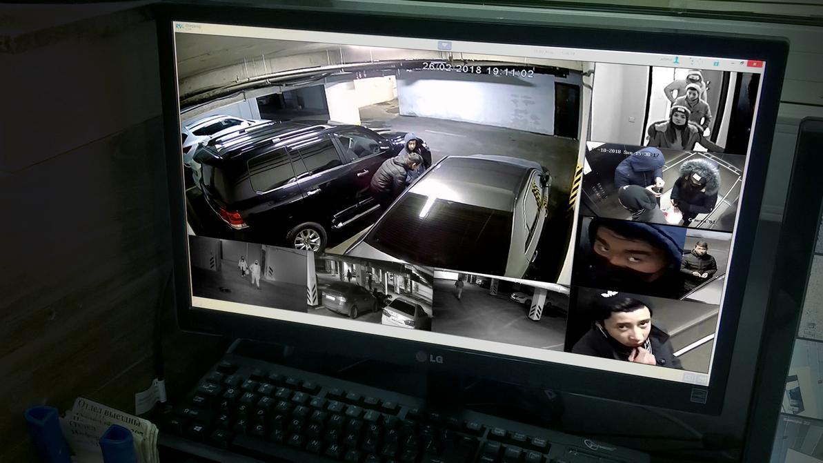 В Алматы орудует дерзкая банда воров видеорегистраторов