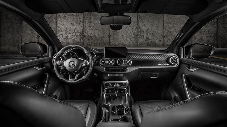 Тюнеры добавили брутальности пикапу Mercedes-Benz
