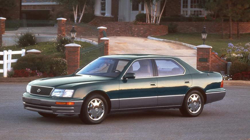 1994 жыл. Lexus LS екінші буыны (XF20)