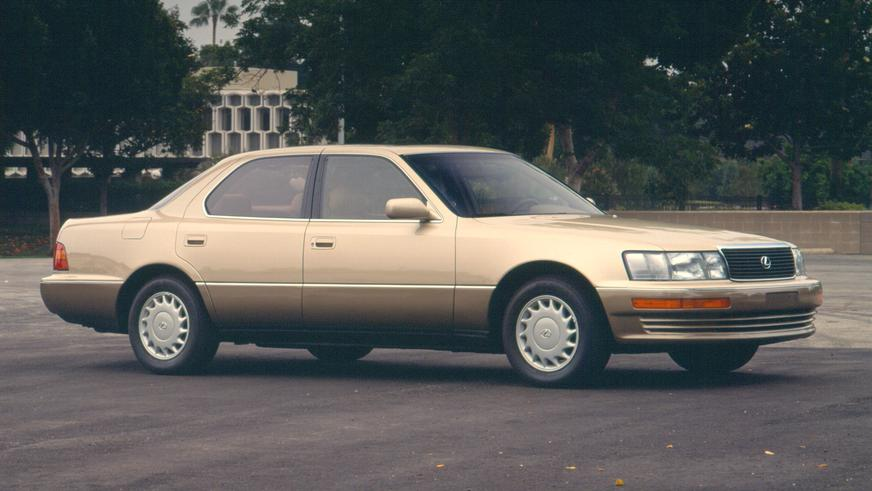 1989 жыл. Lexus LS алғашқы буыны (XF10)