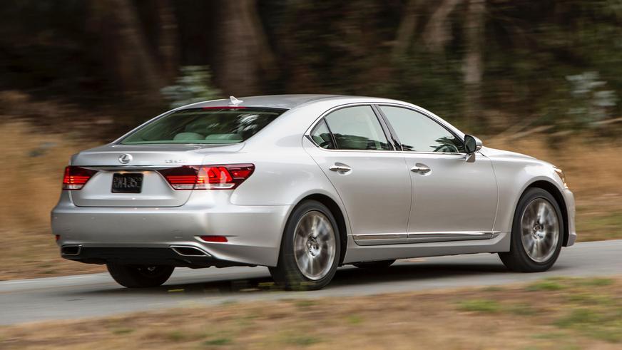 2012 жыл. Lexus LS екінші рестайлингтен кейінгі төртінші буыны (XF40)