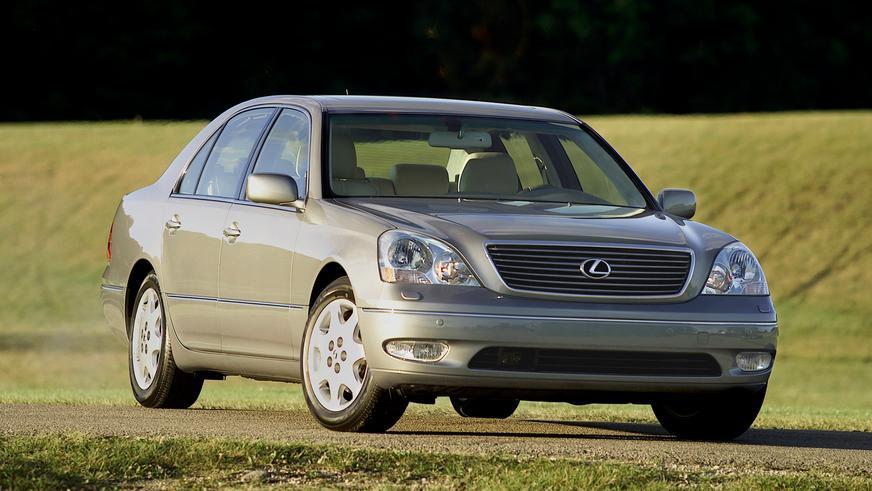2000 жыл. Lexus LS үшінші буыны (XF30)