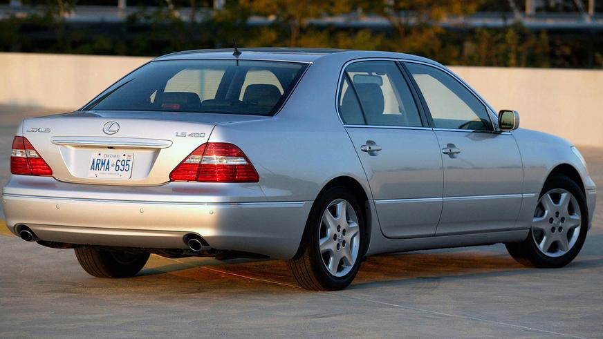 2003 жыл. Lexus LS рестайлингтен кейінгі үшінші буыны (XF30)