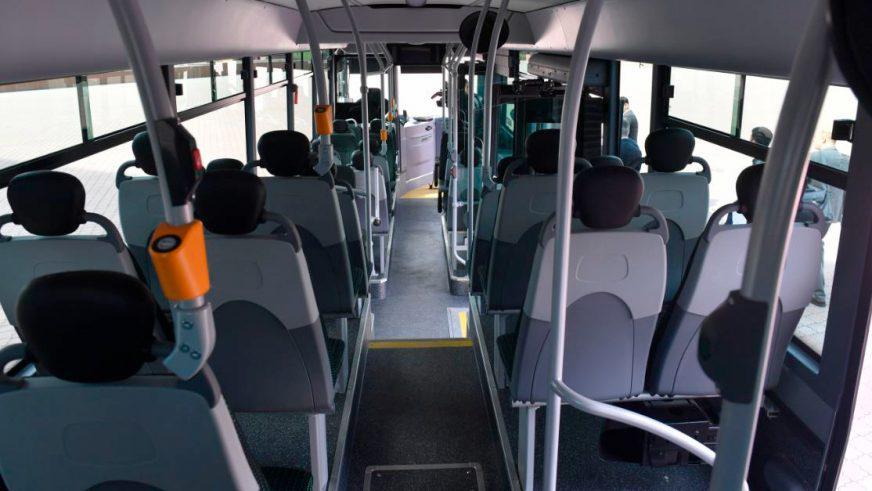 Новый газовый автобус Iveco тестируют на дорогах Алматы