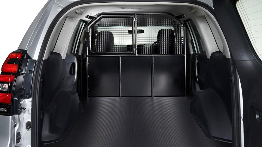 Обновлённый Prado превратили в коммерческий фургон