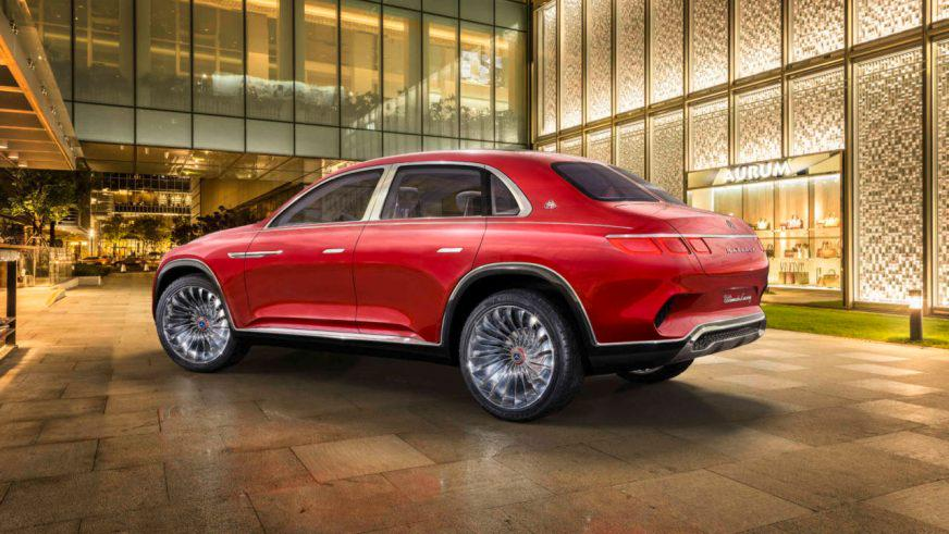Новый концепт Mercedes-Maybach оснастили чайной парой
