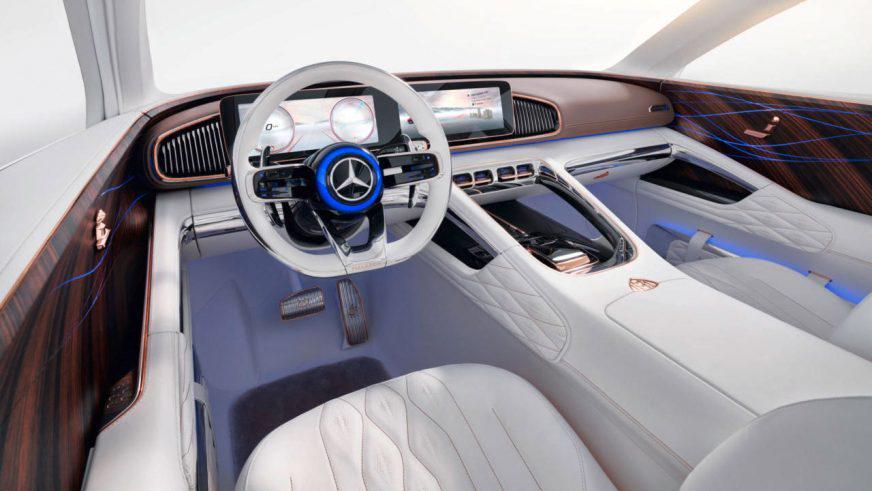 Новый концепт Mercedes-Maybach оснастили чайной парой