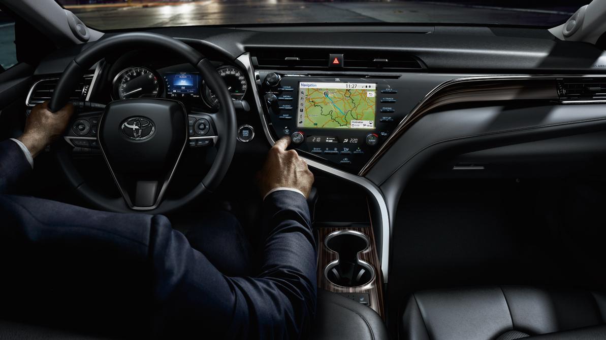 Салон Toyota Camry XV70 попал в десятку лучших в 2018 году
