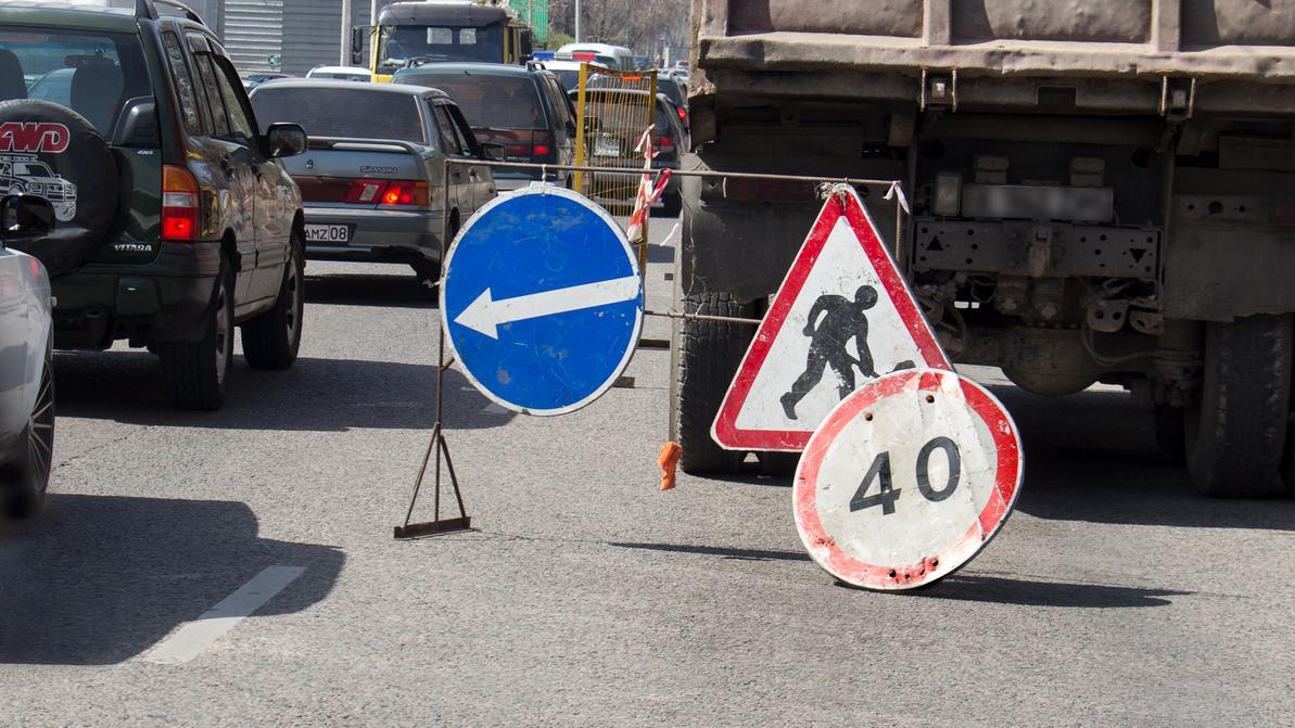 Где алматинцев ждут пробки летом 2018-го из-за ремонта дорог