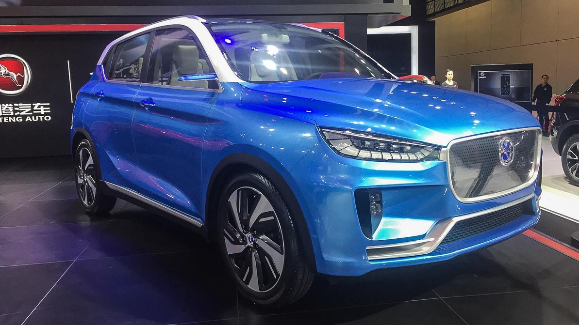 В Китае скрестили Jaguar F-Pace и Porsche Macan