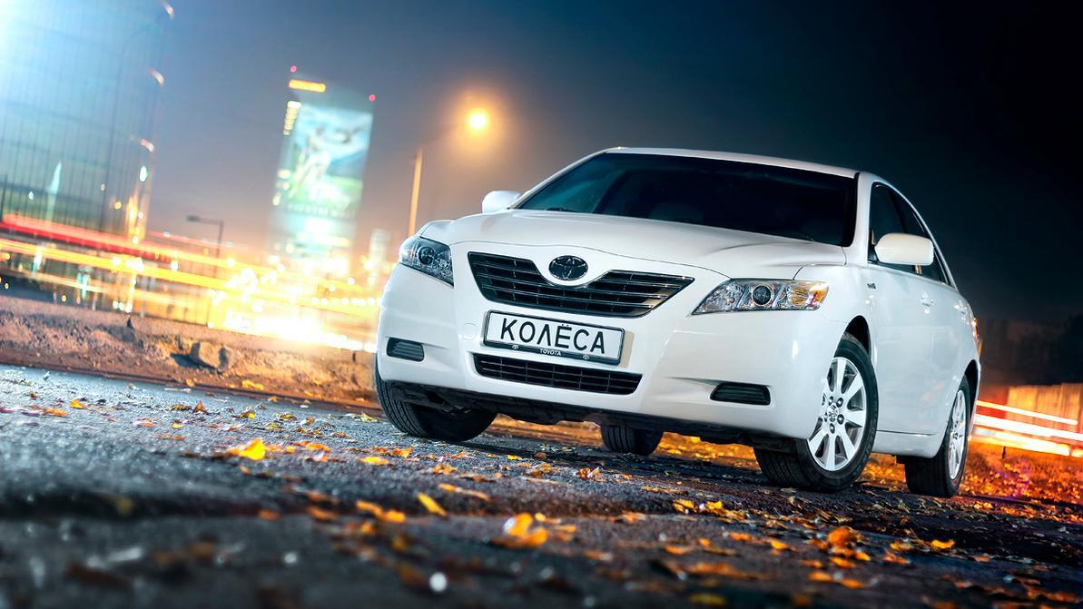 В Казахстане предпочитают белые машины