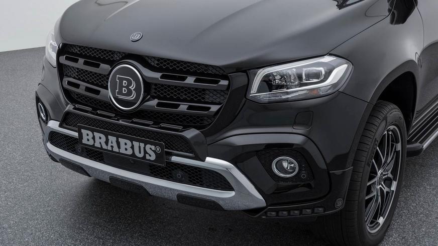 Brabus взялся за доработку Mercedes-Benz X-Class