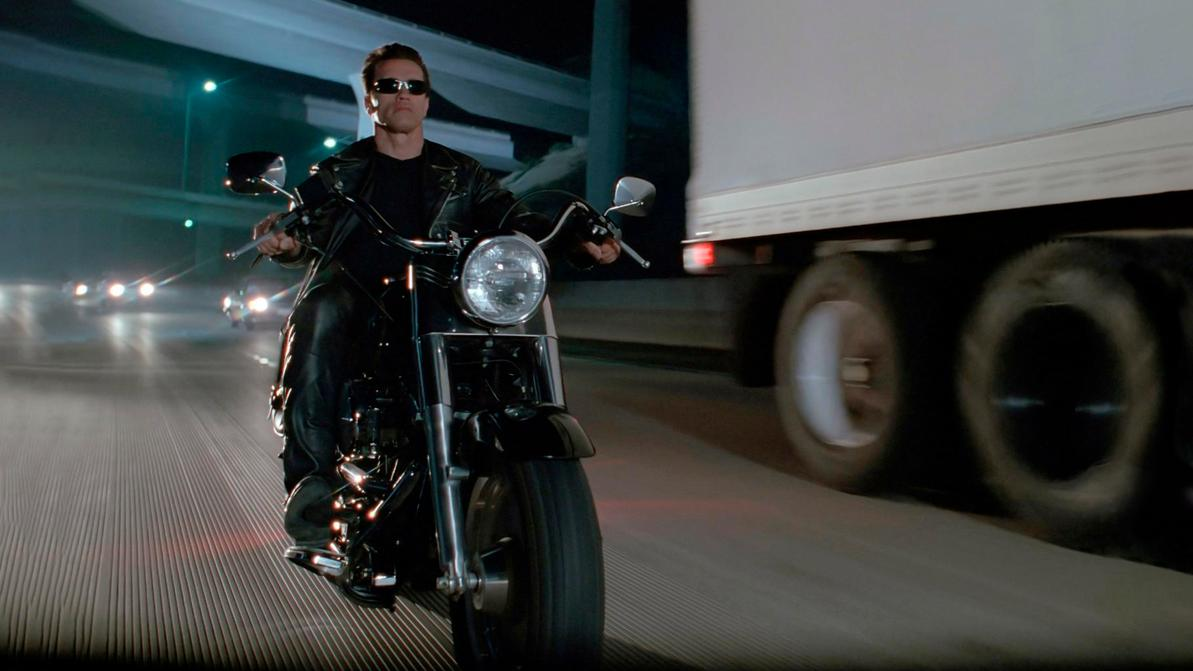 Harley-Davidson из фильма «Терминатор-2» пустят с молотка