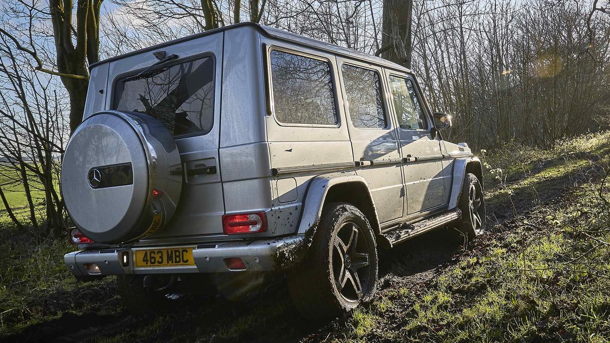 Дизельные Mercedes-Benz G-Class обманывали экологов