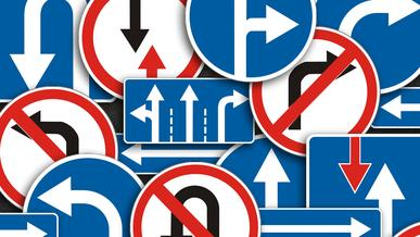 Что запрещают и разрешают знаки со стрелками?