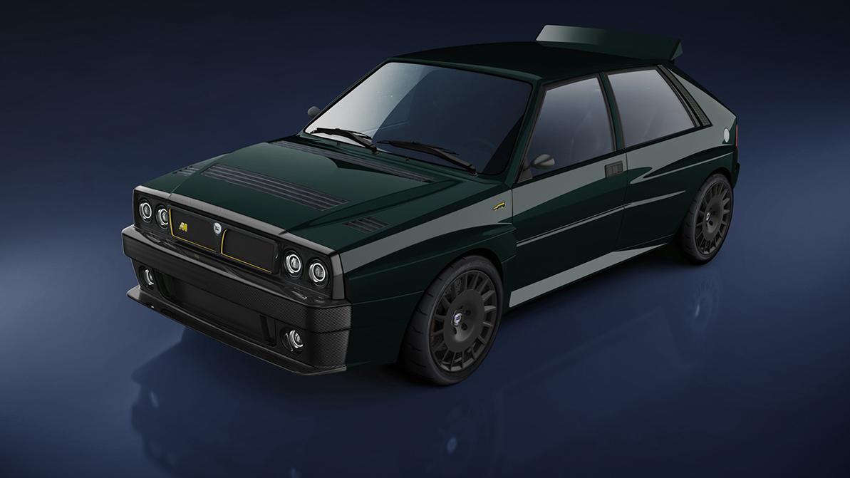 Возрождённая Lancia Delta Integrale лишилась двух дверей