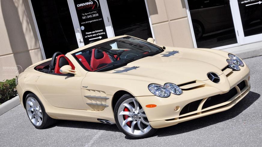 На продажу выставлен уникальный Mercedes-Benz SLR McLaren