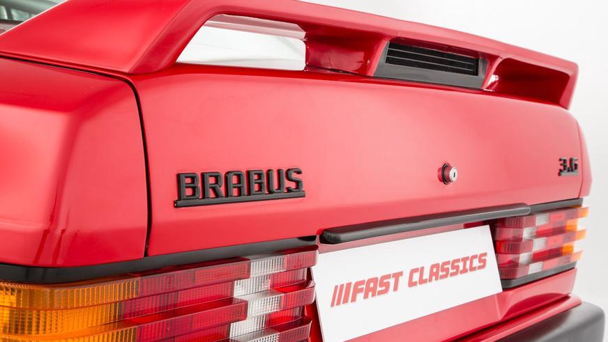 Уникальный Brabus 3.6 Lightweight выставили на продажу