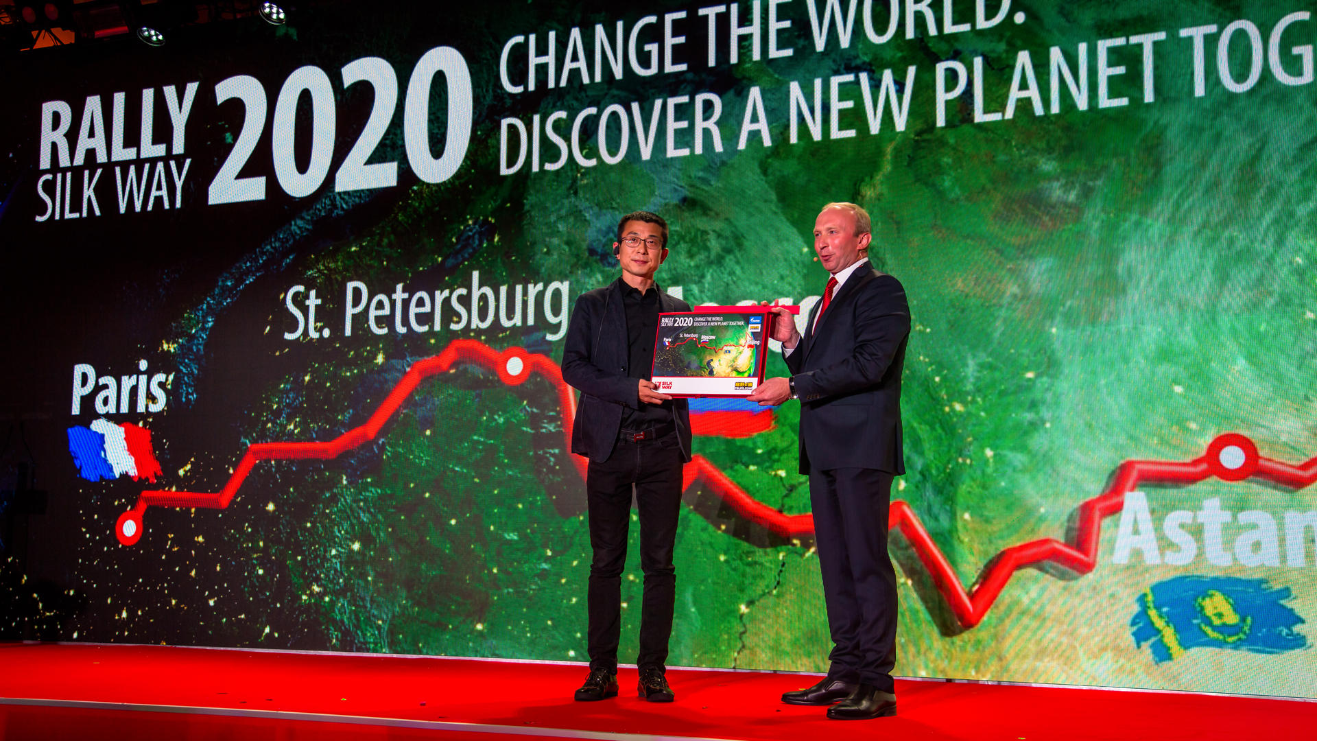 Презентован маршрут Silk Way 2018. Казахстана в нём нет