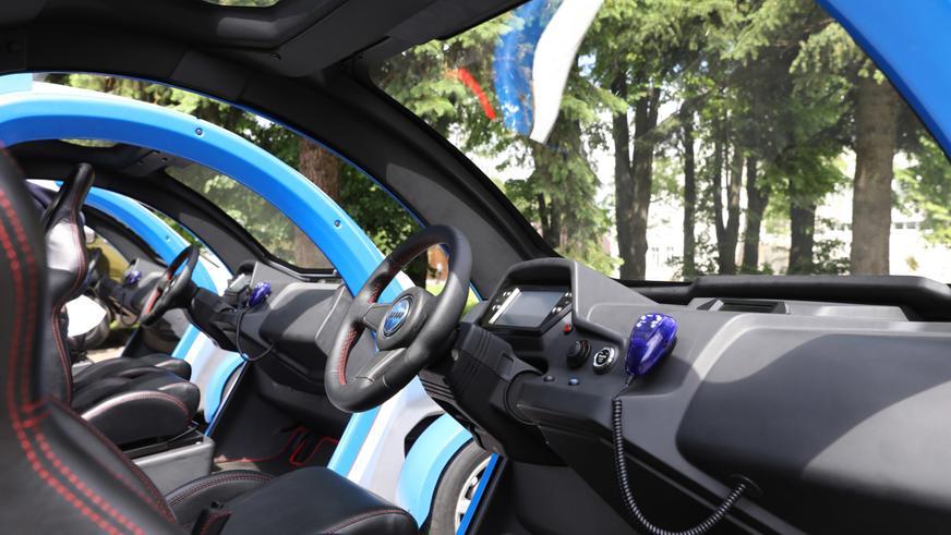 «Калашников» выпустил трёхколёсный электромобиль