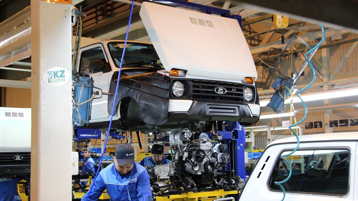 На 92 % выросли продажи машин казахстанской сборки