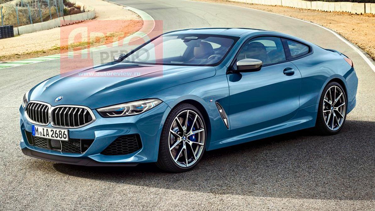 Первые фотографии новой BMW M850i
