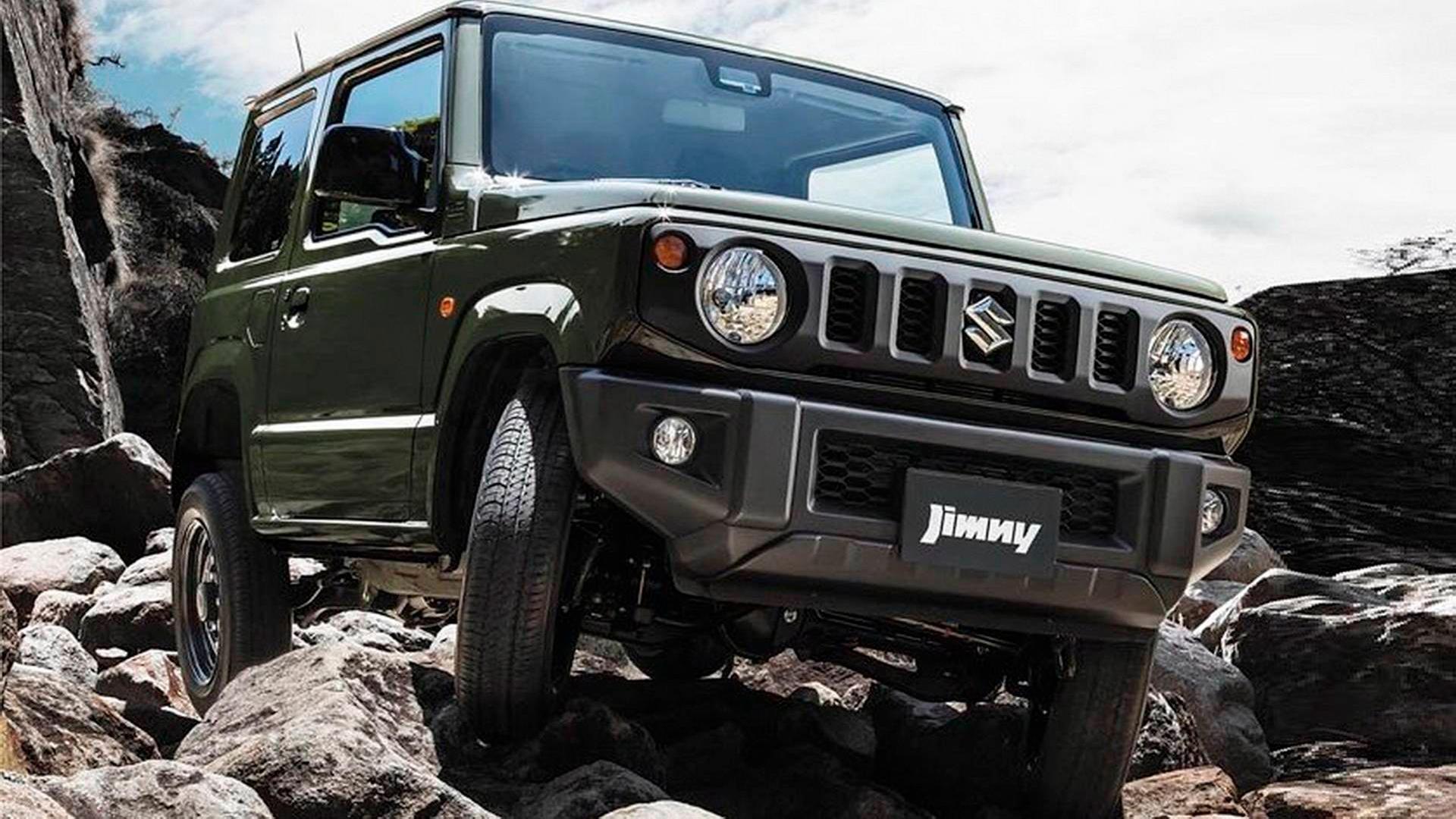 В Сети оказались фото нового Suzuki Jimny