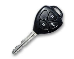 Toyota Camry  XV40 - 2007 - ключ