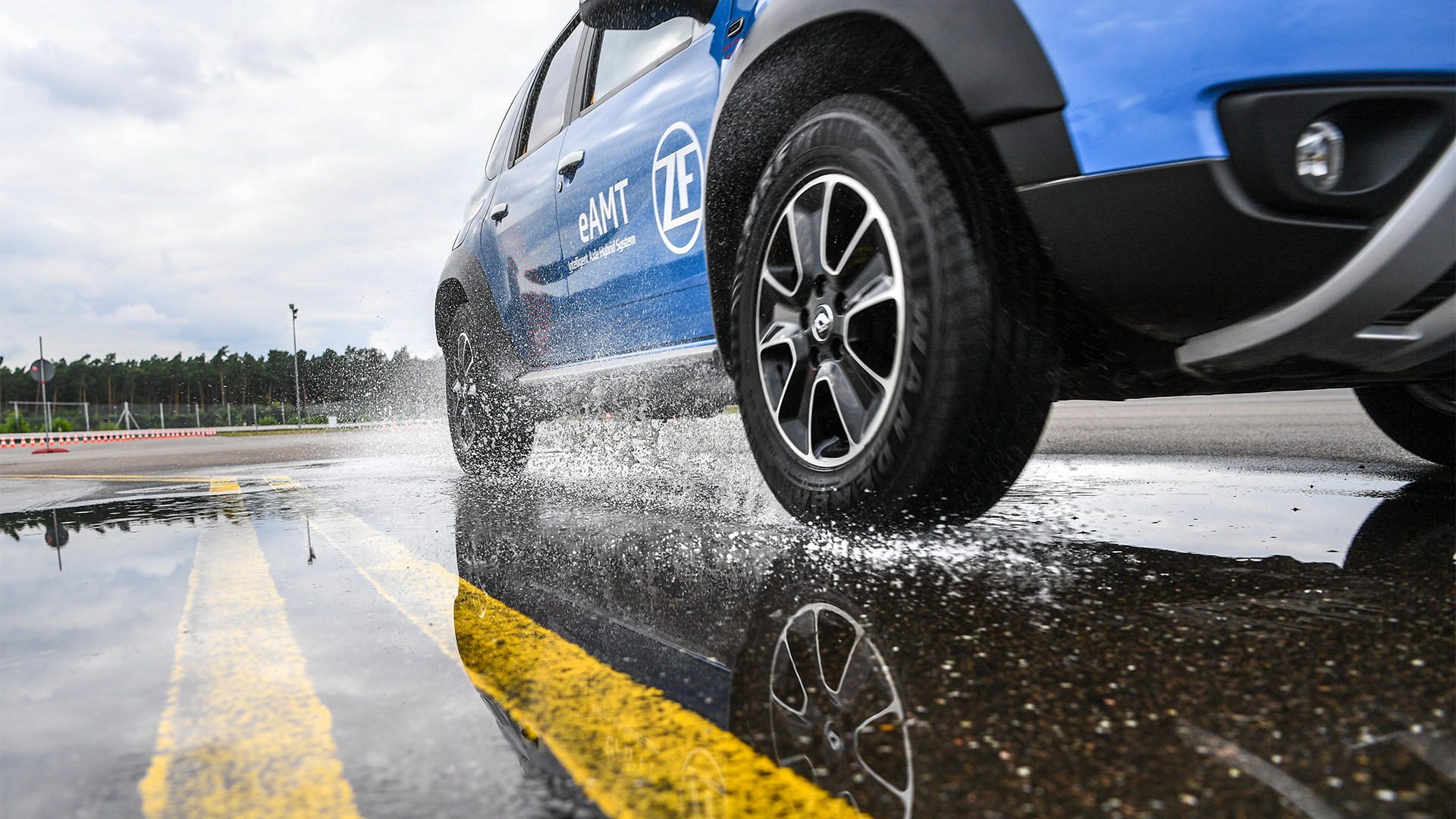 Renault Duster превратили в гибрид