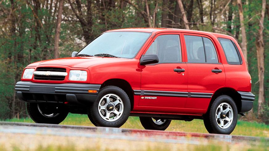 Chevrolet Tracker 1999-2004
