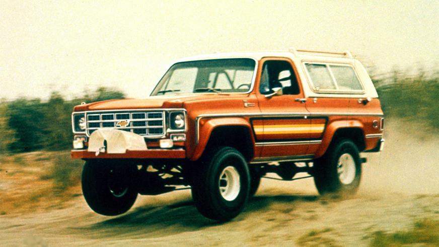 Chevrolet Blazer (1976-1978)