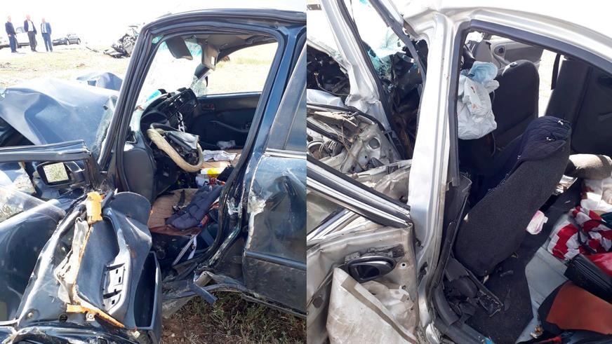 Пять человек погибли при лобовом столкновении авто в Алматинской области