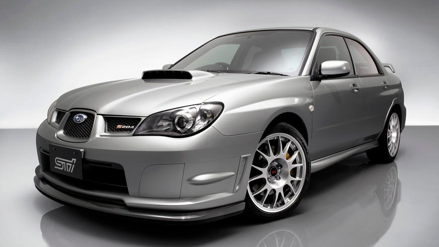 Subaru Impreza WRX STI S204