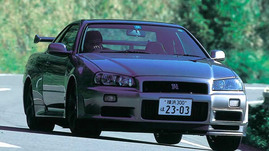 Nissan Skyline GT-R R34 V-Spec