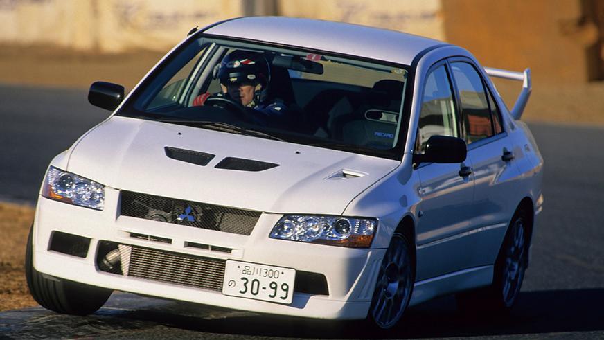 Mitsubishi Lancer Evolution VII RS