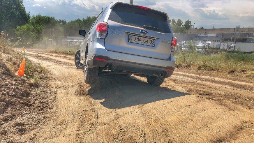 Как прошёл тест-драйв кроссоверов Subaru