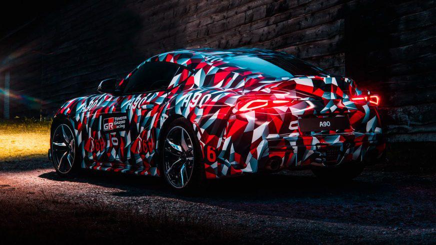 Новая Toyota Supra получит два мотора BMW, а не один