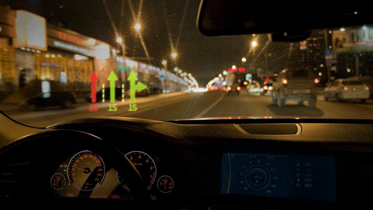 Виртуальный светофор для каждого водителя испытали в США