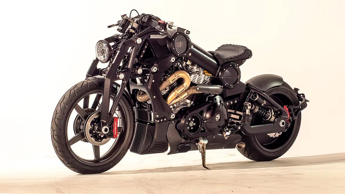 Мотоцикл за $200 тысяч выставили на продажу в Москве