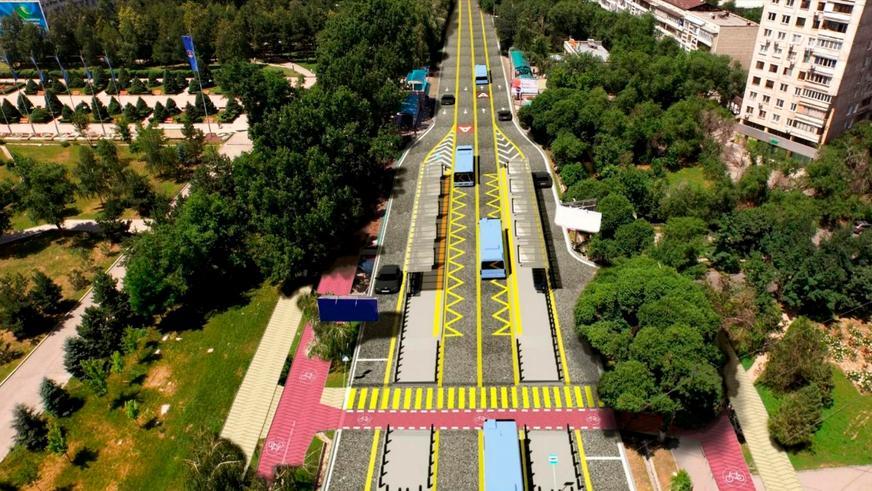Тимирязев көшесіндегі BRT