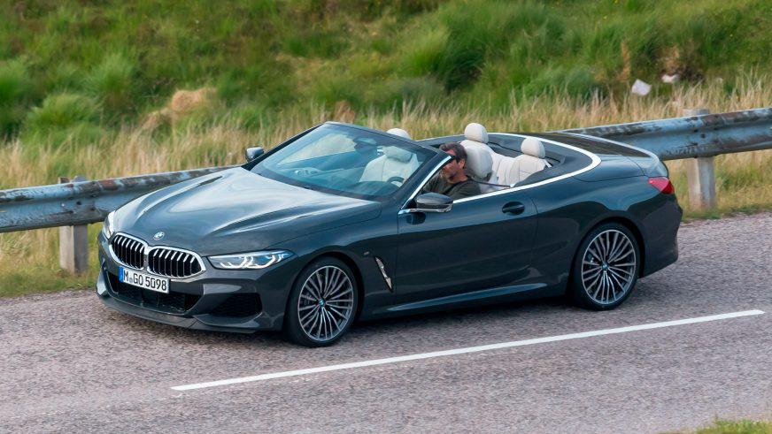 Первые фотографии кабриолета BMW 8-й серии появились в Сети