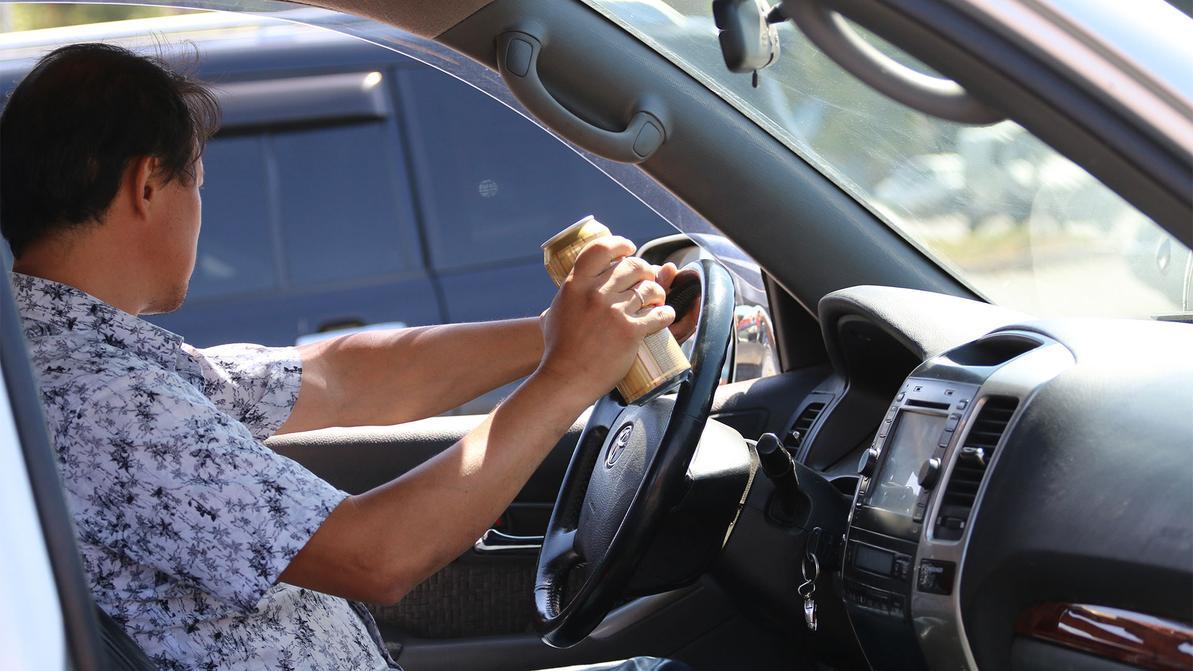 Пьяных водителей в Казахстане собираются наказывать жёстче