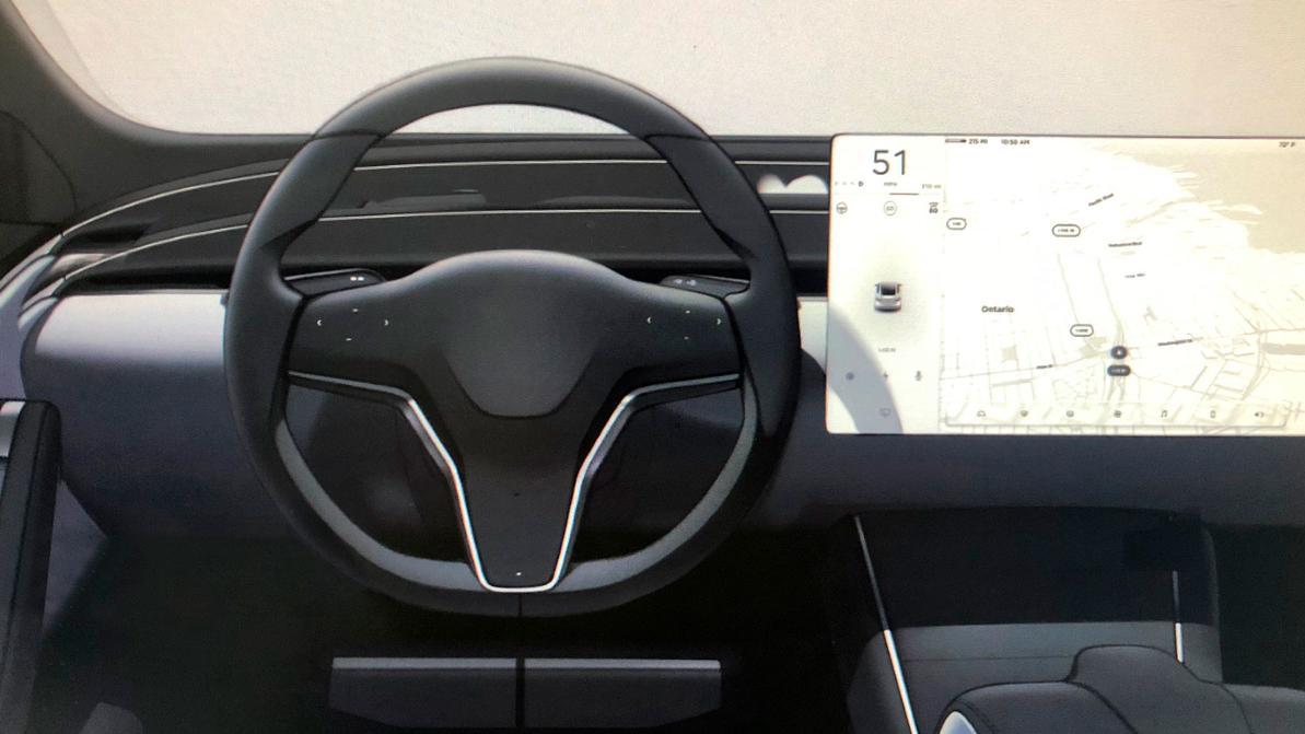 Tesla сделает интерьеры всех моделей одинаковыми