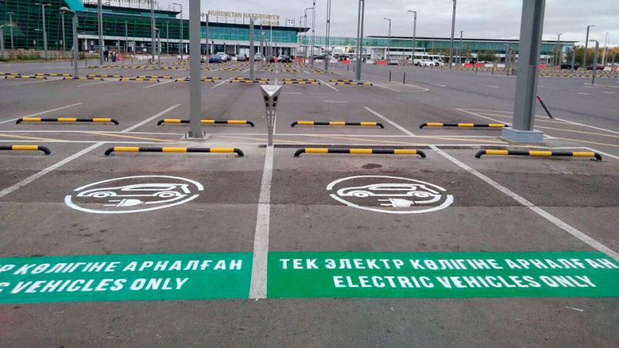 Где зарядить электромобиль в Астане и Алматы