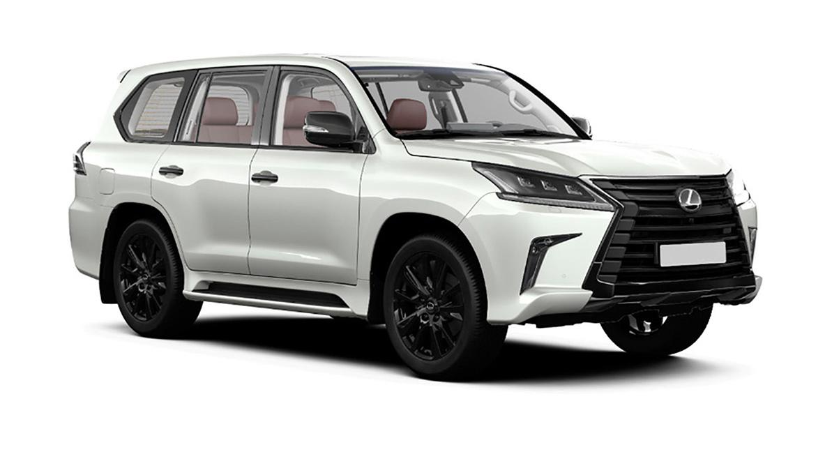 Lexus LX 570 Black Vison прибудет в октябре